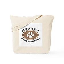 Goldendoodle dog Tote Bag