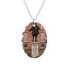 Statue of King William III Necklace