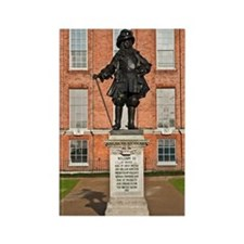 Statue of King William III Rectangle Magnet