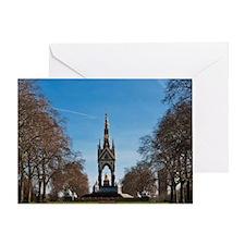Albert Memorial in Kensington Garden Greeting Card