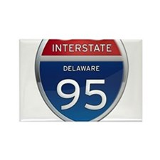 Delaware Interstate 95 Magnets