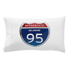 Delaware Interstate 95 Pillow Case
