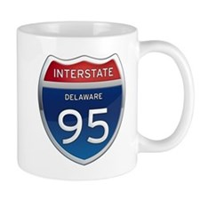 Delaware Interstate 95 Mugs
