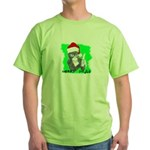 LET'S MONKEY AROUND (XMAS) LOOK Green T-Shirt