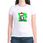 LET'S MONKEY AROUND (XMAS) LOOK Jr. Ringer T-Shirt