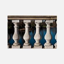 Serpentine Bridge Columns Rectangle Magnet