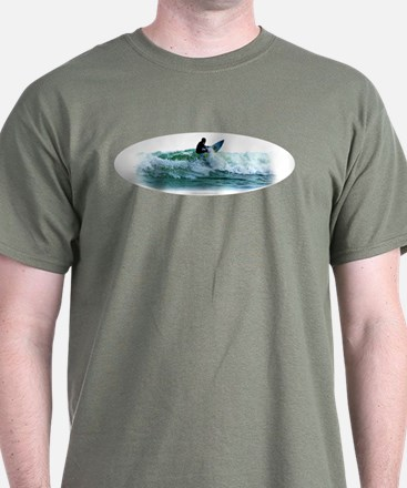 Surfing Wave T-Shirt