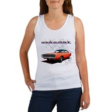 1970 Dodge Charger Red Women's Tank Top