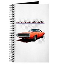 1970 Dodge Charger Red Journal