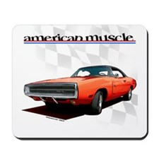 1970 Dodge Charger Red Mousepad