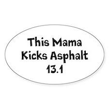 Asphalt Mamas Half Marathon Decal