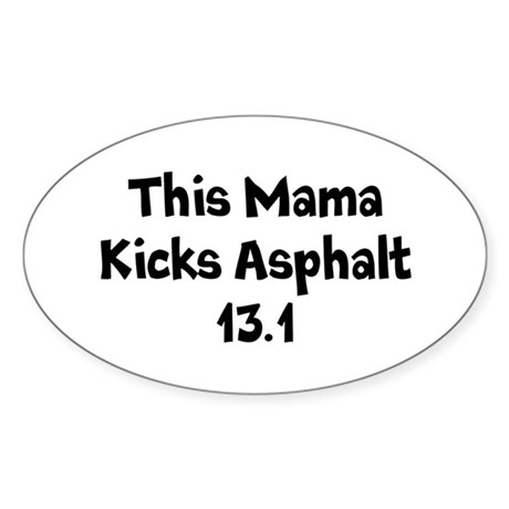Asphalt Mamas Half Marathon Sticker