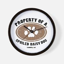Daisy Dog Wall Clock