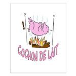 Cochon De Lait Small Poster
