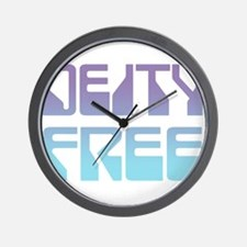 Deity Free Wall Clock