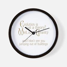 Evolutionary Theory Wall Clock