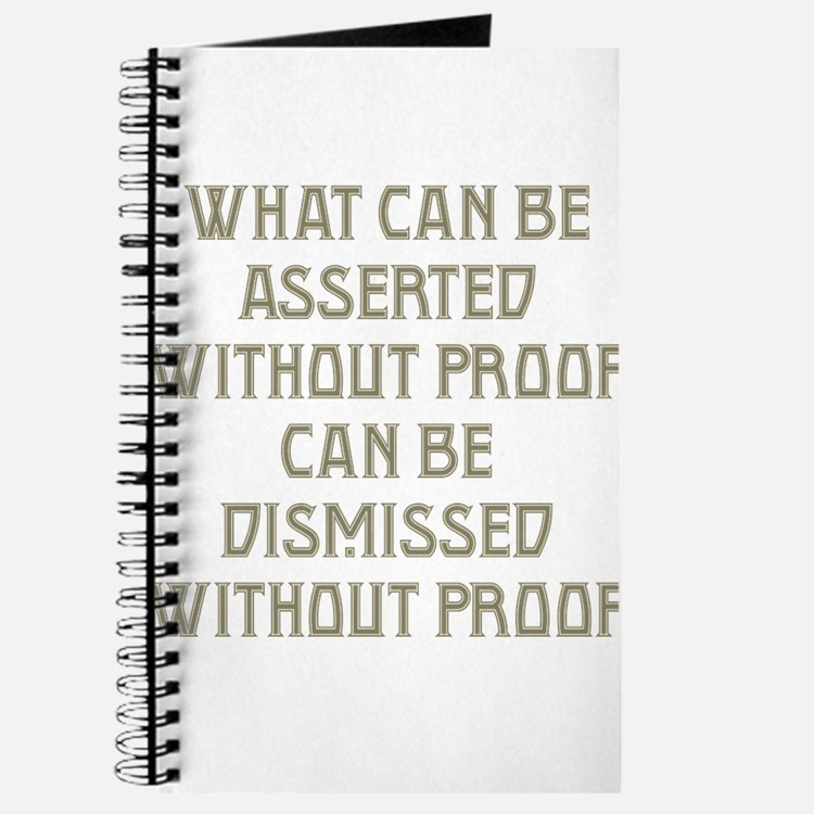 Asserted without Proof Journal