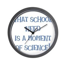 amomentofscience.png Wall Clock