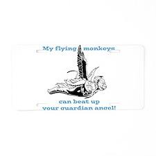 flyingmonkey.png Aluminum License Plate