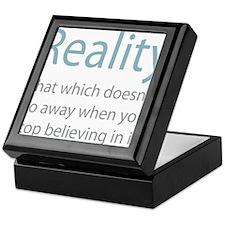 Reality Keepsake Box