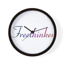 freethinker.png Wall Clock