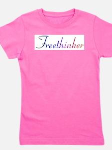 freethinker.png Girl's Tee