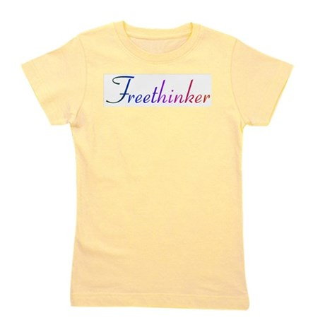 freethinker.png Girl's Tee