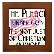 pledge1.png Framed Tile