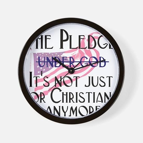 pledge1.png Wall Clock