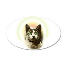 God Cat Wall Decal