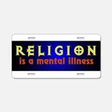 mentalillness.png Aluminum License Plate
