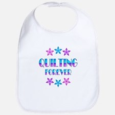 Quilting Forever Bib