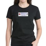Waiting for my granddaughter. Women's Dark T-Shirt