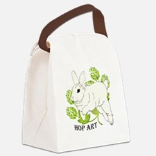 Hop Art Canvas Lunch Bag