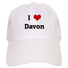 I Love Davon Baseball Cap