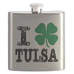 Tulsa Irish Flask