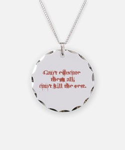 Can't Educate Them All Necklace