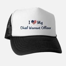 Chief Warrant Officer: Flag L Trucker Hat