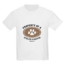 Cavapoo dog Kids T-Shirt
