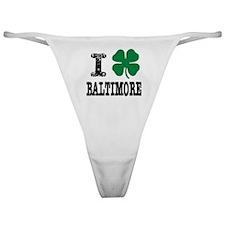 Baltimore Irish Classic Thong