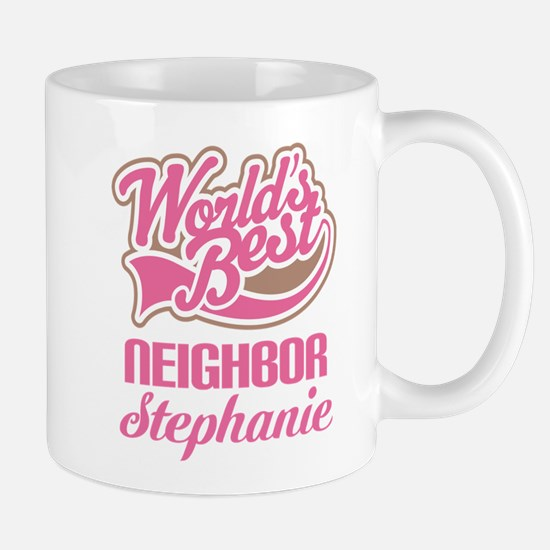 Worlds Best Neighbor Personalized Mugs
