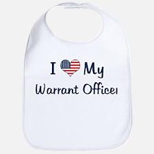 Warrant Officer: Flag Love Bib