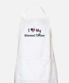 Warrant Officer: Flag Love BBQ Apron