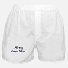 Warrant Officer: Flag Love Boxer Shorts