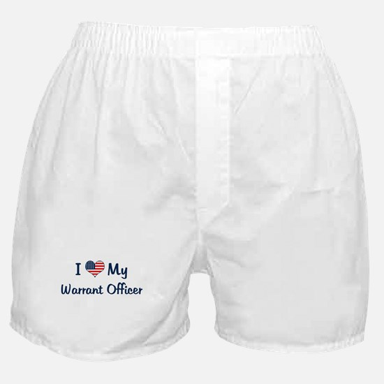 Warrant Officer: Flag Love Boxer Shorts
