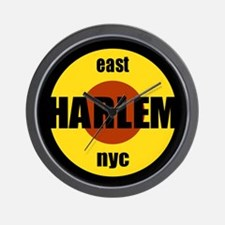 "East Harlem ""El Barrio"" Squar Wall Clock"