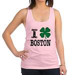 Boston Irish Racerback Tank Top