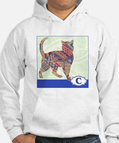 C is for Cat.png Hoodie