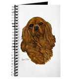 Cavalier king charles spaniel Journals & Spiral Notebooks
