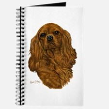 Cute Cavalier king charles Journal